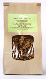 Maple Cranberry Granola